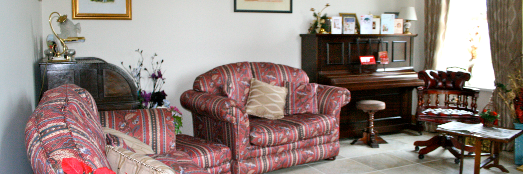 Part of the guest sitting room