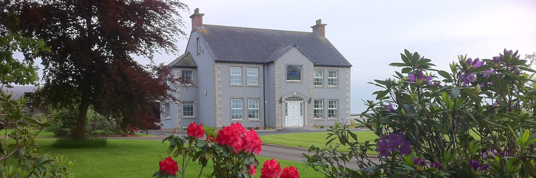 Welcome to Ballyharvey House website